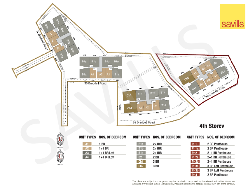 The Maisons Site Plan