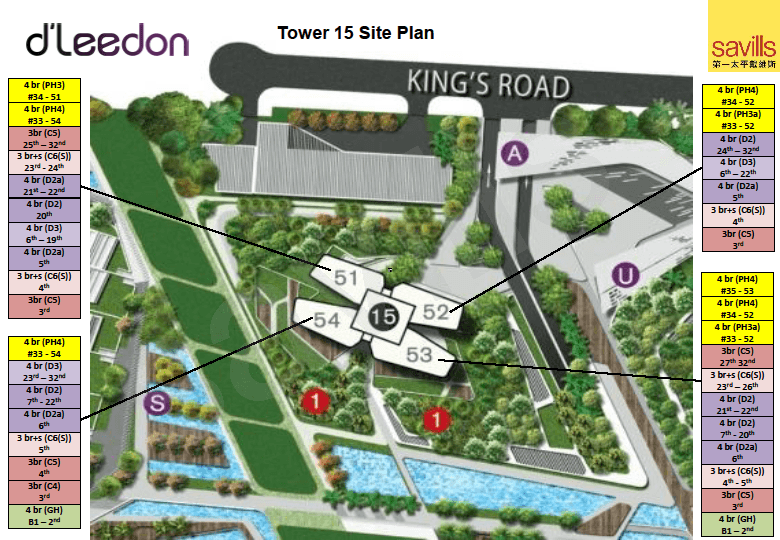 Site Plan for tower 15